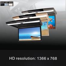 "Car Monitor 15.6"" LED Digital Screen Support USB/SD-MP5 Car Roof Mounted Monitor Flip Down Monitor (China (Mainland))"