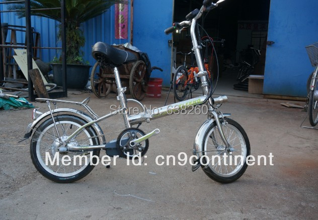 electric fold bicycle