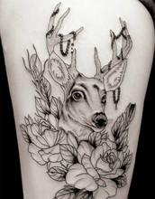 Body Art 3D À Prova D' Água Tatuagem Temporária Adesivos Homens Frescos Wonem 19×12 cm
