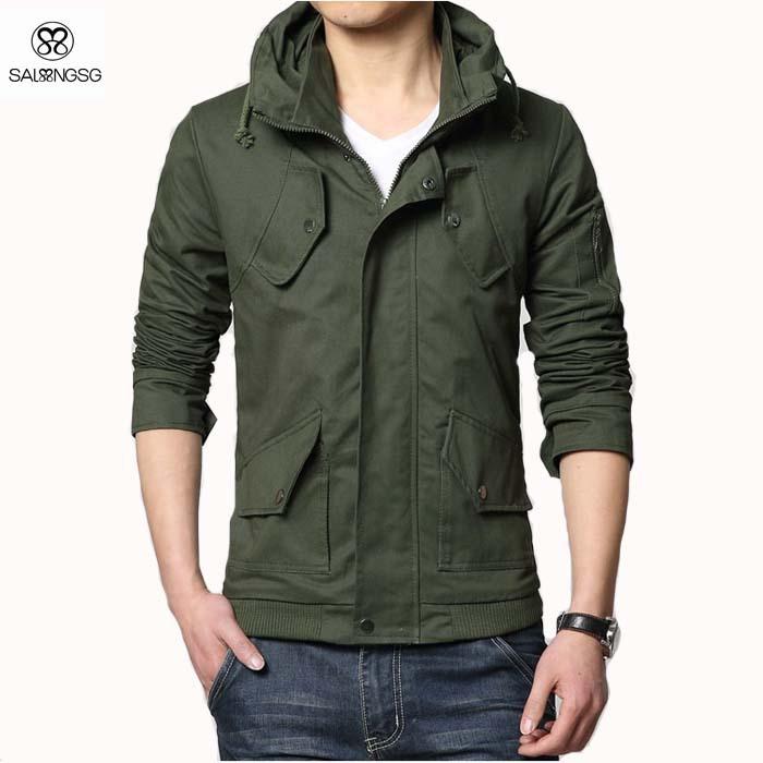 Military Jacket Men Windbreaker Outwear Jackets For Man Zipper Men's Outdoor Jacket Winter Coats Jaqueta Masculina North XXXL(China (Mainland))