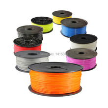 3D Printer Supplies Filament RepRap ABS/PLA 3.0/1.75mm 1kg Plastic Rubber Consumables Material MakerBot/RepRap/UP