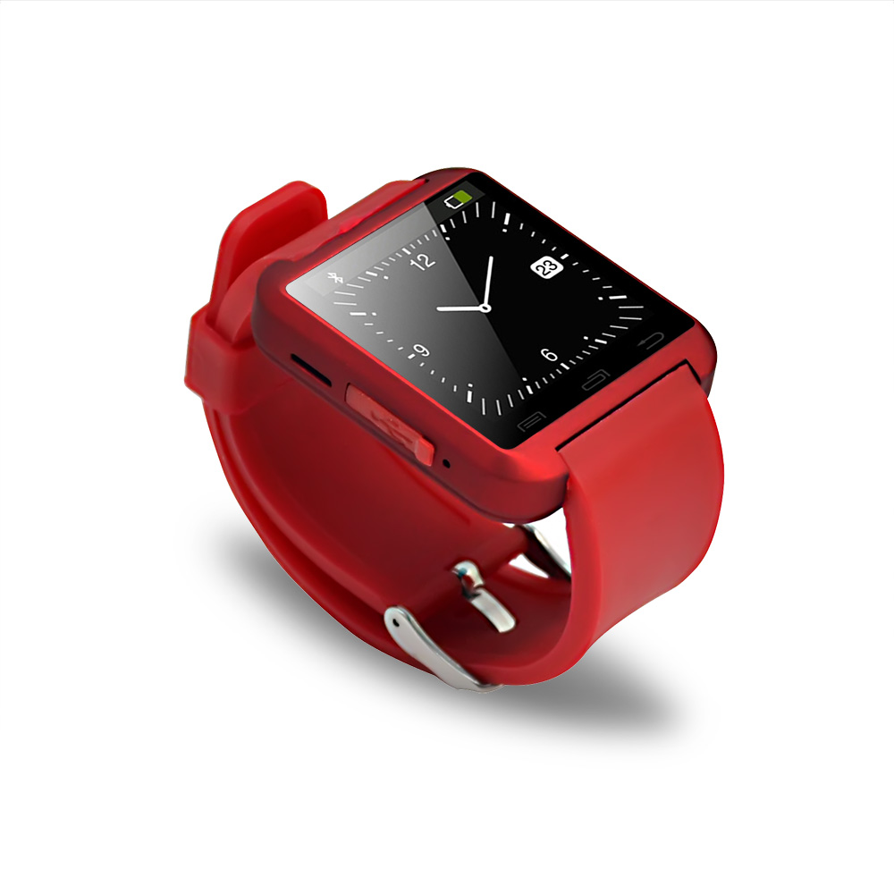 Newest Bluetooth Smartwatch antilost smart watch U8 for Samsung S4/Note 3 HTC xiaomi Android Phone Smartphones with temperature