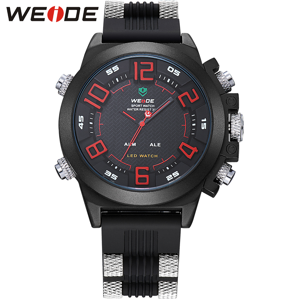 WEIDE Sports Watch Water Resistant Analog-Digital Display Auto Date Multi-function Sports Watches for Men Quartz Watch WH5202<br><br>Aliexpress