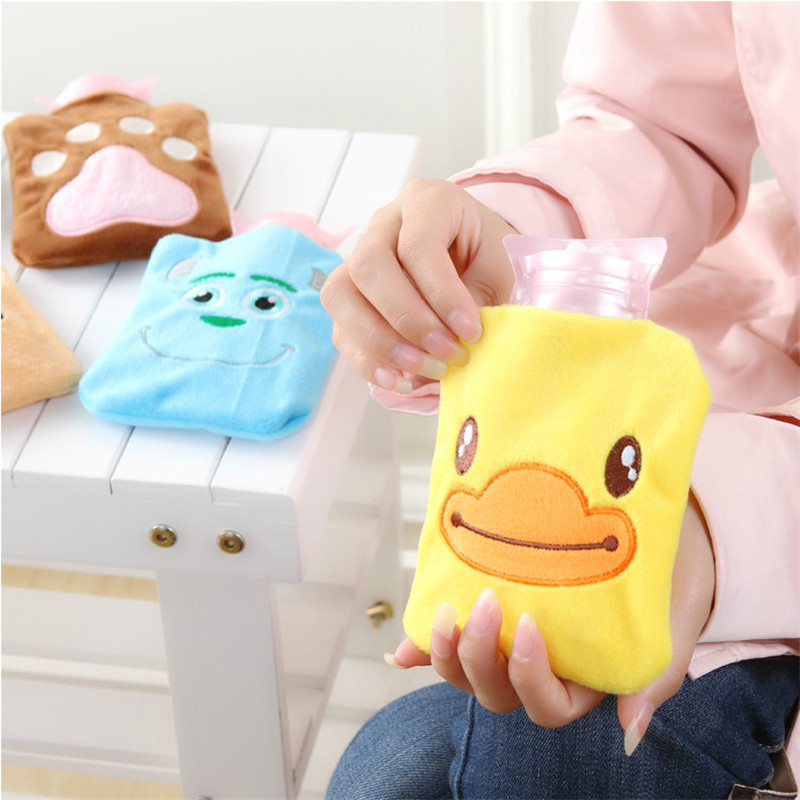 2015 cartoon plush hot water bottle,mini hand warmer ,fashion bag - Free dream city store