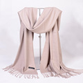 Scarf Luxury Brand Pashmina Echarp Cashmere Shawls and Wraps Tassel Winter Scarf Women Men Scarves Cachecol