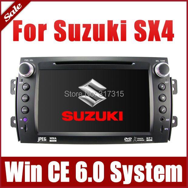 "8"" 2-Din Car DVD Player for Suzuki SX4 2006-2013 with GPS Navigation Radio Bluetooth TV USB SD AUX Map Audio Video Stereo Nav(China (Mainland))"