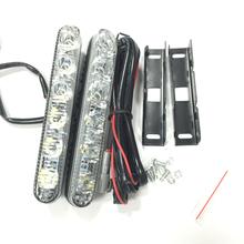 LED Daytime Running Light High/Low Beam Waterproof Universal DRL Kit Day Light Super Bright Auto Driving Light External Light(China (Mainland))