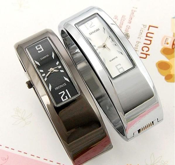 fashionable square woman quartz bangle watch luxury sport dress wristwatches stainless steel band