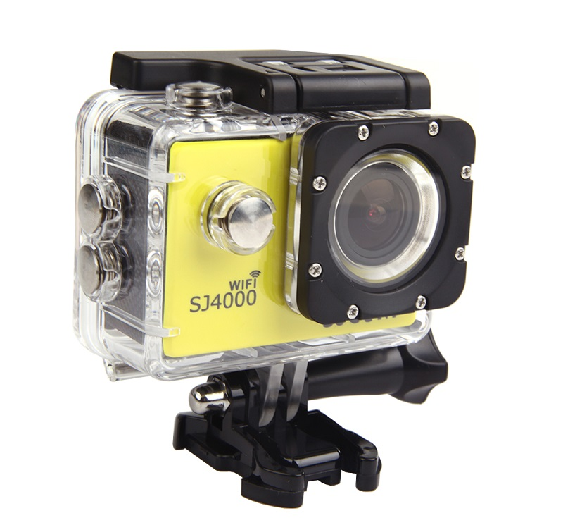 SJ CAM Free shipping SJ4000 30M Waterproof Sport Action Camera Car DVR with WIFI 1080P Full HD Camera Underwater