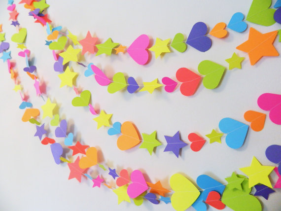 how to make paper decorations for party