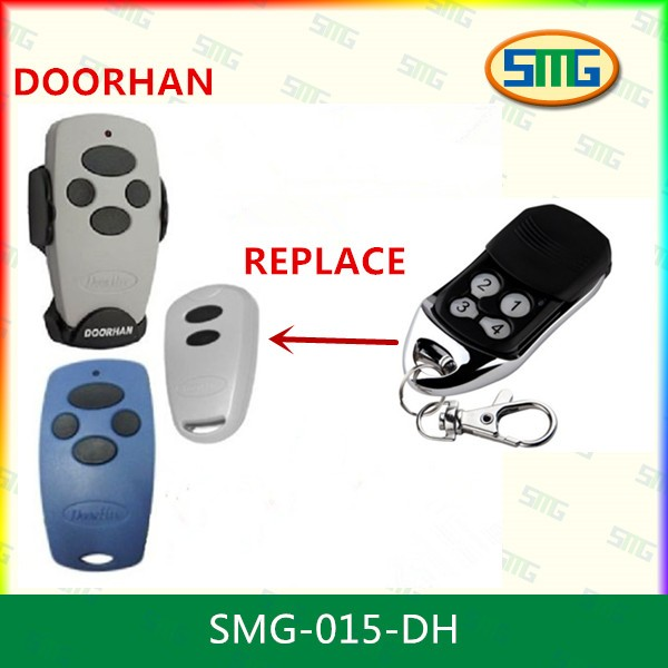 Hot-sale 433.92MHz rolling code remotes control Doorhan replacement for automation systems<br><br>Aliexpress