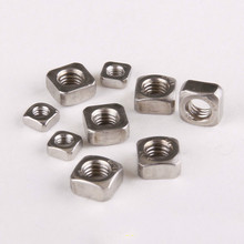 DIN557 Sqaure Nuts Square Machine Screw Nut Stainless Steel 304 M*3/4/5/6/8/10mm A2-70 - W&K Fashion Shops store