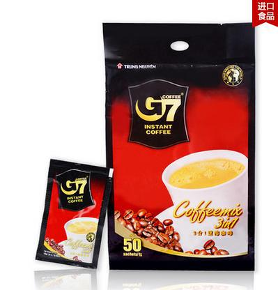 Vietnam coffee zhongyuan G7 triad instant coffee