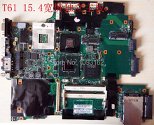 Original Mainboard For ThinkPad Lenovo T61 154 screen Independent motherboard 43Y9047 42W7652(China (Mainland))