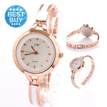 Relojes Casual marca de luxo pulseira relógio rosa de ouro mulheres relógios Relogio Feminino