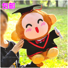 middle lovely stuffed monkey toy doctor monkey doll smile monkey toy gift about 40cm