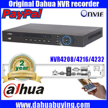 2016 hot Sale Dahua 5MP DHI-NVR4208 8ch/16ch/32ch channel CCTV NVR DVR Recorder Dahua Onvif HDMI Output Network For all Cameras