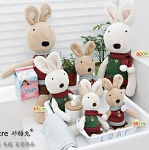 Le Sucre Sugar RABBIT,SG308 Sweater scarf design 60CM,3 COLORS,stuffed dolls,Birthday,valentine's day gift,factroy wholesale(China (Mainland))