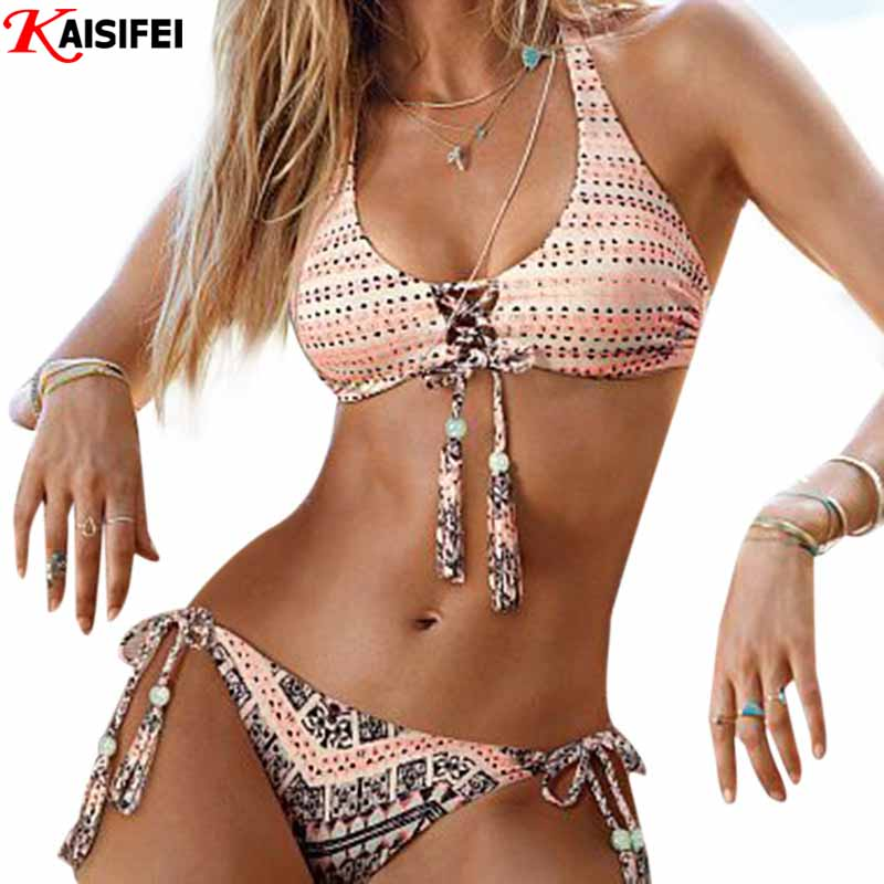 Crochet Bikini : Buy 2016 New Handmade Crochet Bikinis Women Swimsuit Push Up Swimwear ...