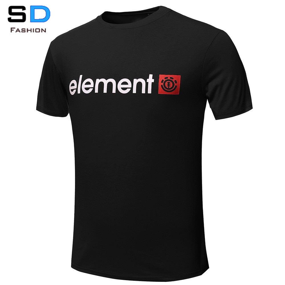 Free Shipping Element T Shirts Men Cotton Man O Neck Short