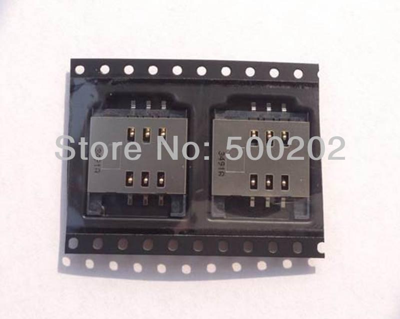 100pcs/lot SIM Card Reader Holder Tray Slot for Blackberry 9800 9810 sim card reader slot tray socket module free shipping