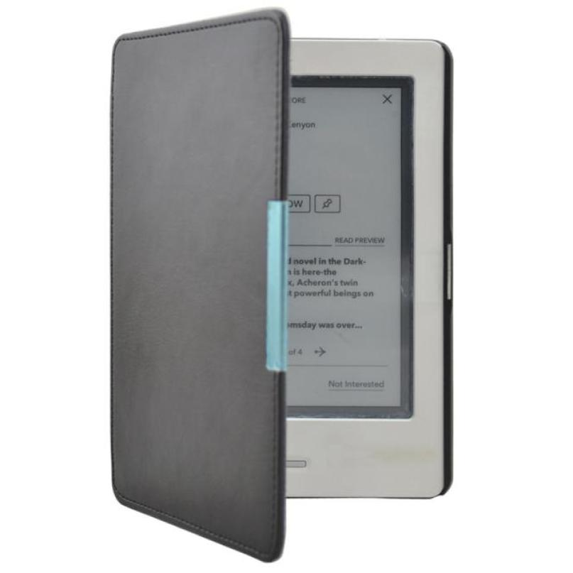 Good Sale Magnetic Slim Leather Case Cover Pouch For kobo touch 6.0 inch eReader Free shipping Mar 16<br><br>Aliexpress