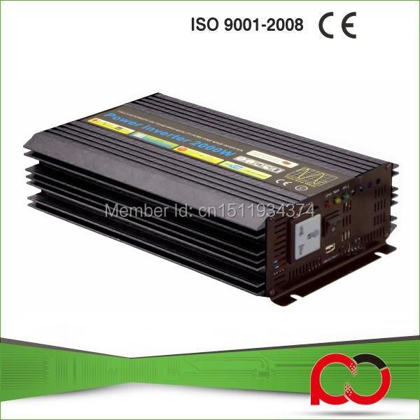 Pure Sine Wave Power Inverter 12v 220v 2000W Power Inverter(China (Mainland))