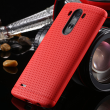 For LG G3 Cases Honeycomb Style Ultra Thin Soft TPU Silicon Case For LG Optimus G3 D830 D850 D831 D855 Fashion Back Cover Capa