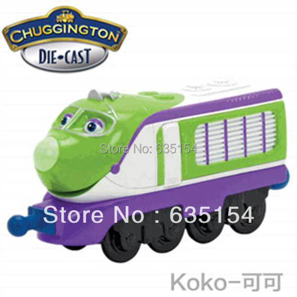 Free Shipping Cartoon Chuggington Trains Model Toys KoKo Diecast Metal Train Model Toy For Kids/Gift(China (Mainland))
