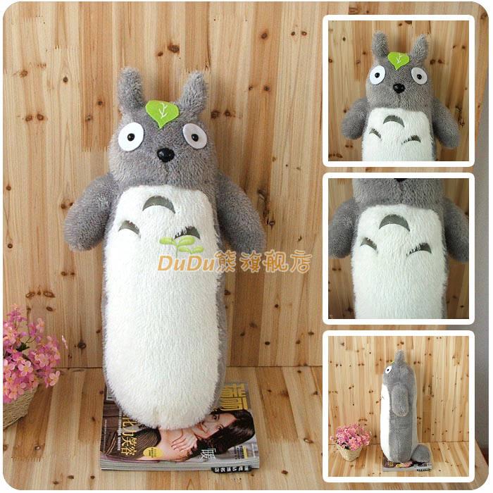 Long Totoro Pillow Lunch Break Cushion Cartoon Plush Toy 50cm /65CM Free Shipping(China (Mainland))