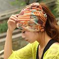 Mode hip-hop engels kleurrijke gedrukte multifunctionele sjaal muts unisex baggy beanie cap