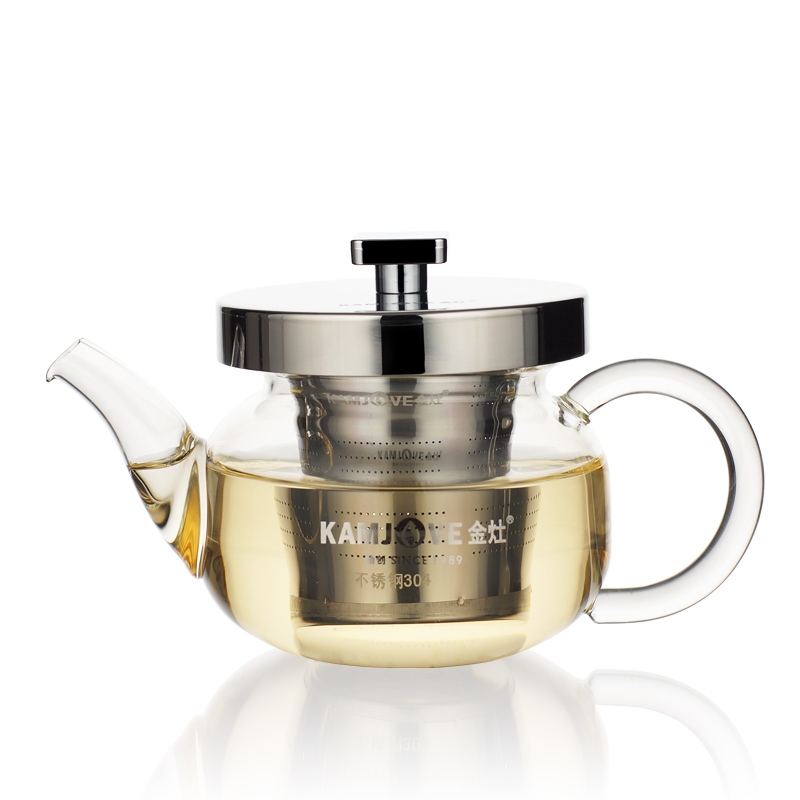 free shipping Kamjove AM series small glass teapot tea device black tea cup PU er tea set Glass pot Small glass tea pot(China (Mainland))