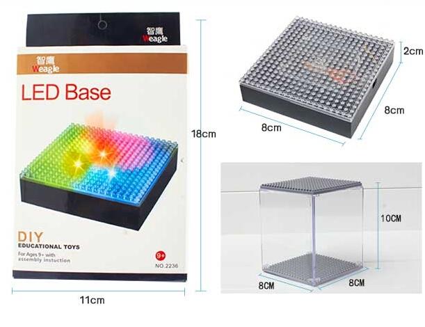 Factory Weagle NanoBlocks LED Base Display Case Batman Hellokitty Mini Blocks Display Case Educational Blocks Children Toys<br><br>Aliexpress