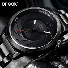 Buy Break Unique Design Photographer Series Men Women Unisex Brand Wristwatches Sports Rubber Quartz Creative Casual Fashion Watches for $19.83 in AliExpress store