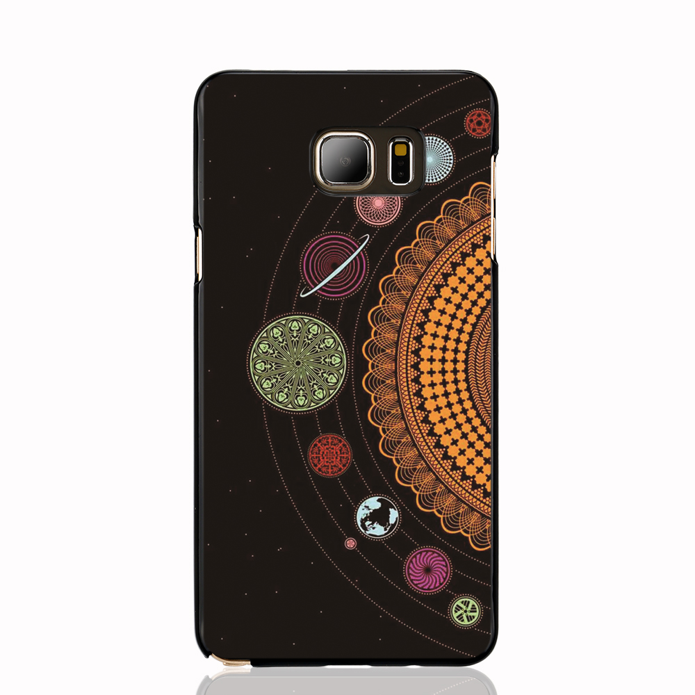 08494 Solar System art print cell phone case cover for Samsung Galaxy Note 3,4,5,E5,E7 CORE Max G5108Q(China (Mainland))