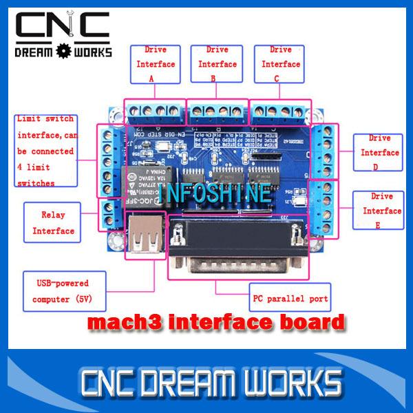 Control Mach3 Mach3 Usb Cnc Controller Mach3