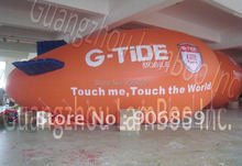 Buy 8m, 26ft Long Large Inflatable Advertising Zeppelin/Inflatable Blimp Events/Can put LOGO/ Free for $359.47 in AliExpress store