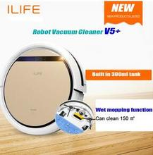 Smart  Robot Vacuum Cleaner V5 PRO ROBOT ASPIRATOR  Wet and Dry Clean MOP Water Tank HEPA Filter,Ciff Sensor,Self Charge(China (Mainland))
