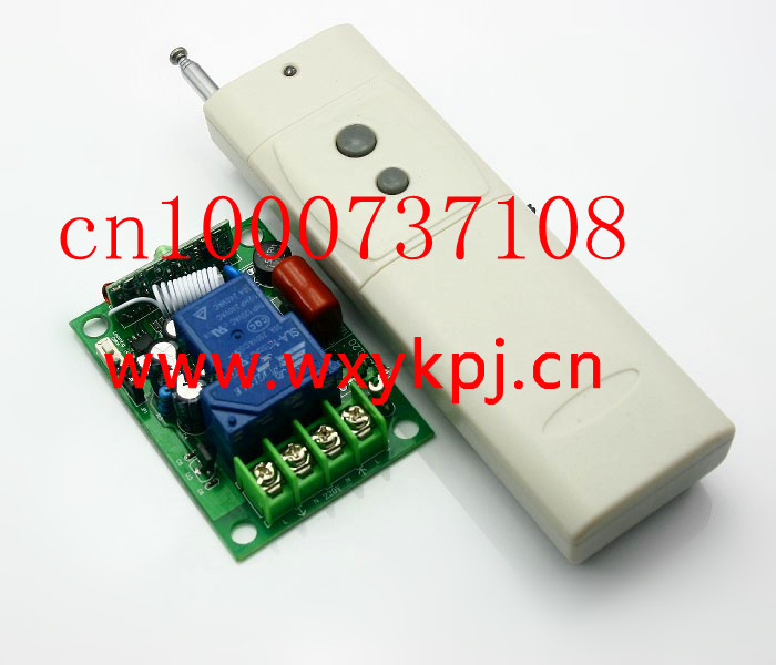 New wholesale prices 1CH AC220V 30A Wireless Remote control Switch / High power digital wireless remote control switch(China (Mainland))