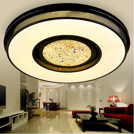 Square or Round Modern LED ceiling lights for living room kids room bedroom home decoration ceiling lamp free shipping<br><br>Aliexpress