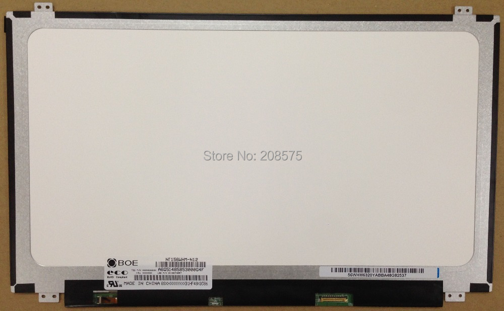 Free shipping NT156WHM-N12 LP156WH3 TPS1 LP156WHU TPA1 N156BGE-EA1 EB1 B156XW04 V.8 V.7 B156XTN03.1 30pin Display Laptop Screen(China (Mainland))