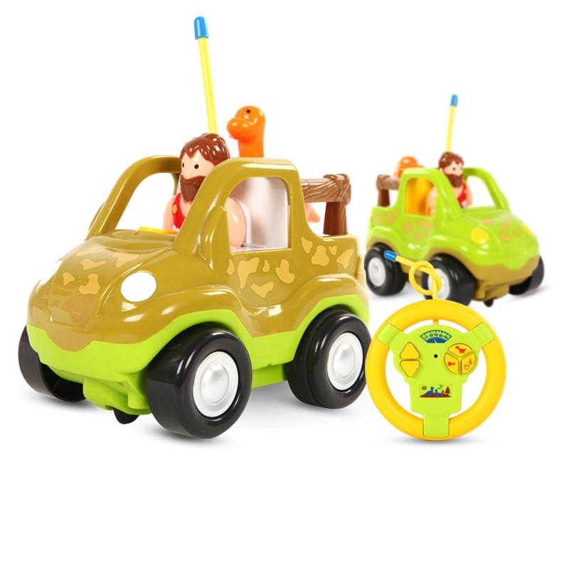 Remote Control Outdoor Car Authentic Children's Cartoon Dinosaur Baby Toys Cars Musicla Automotive Racing Early Education(China (Mainland))