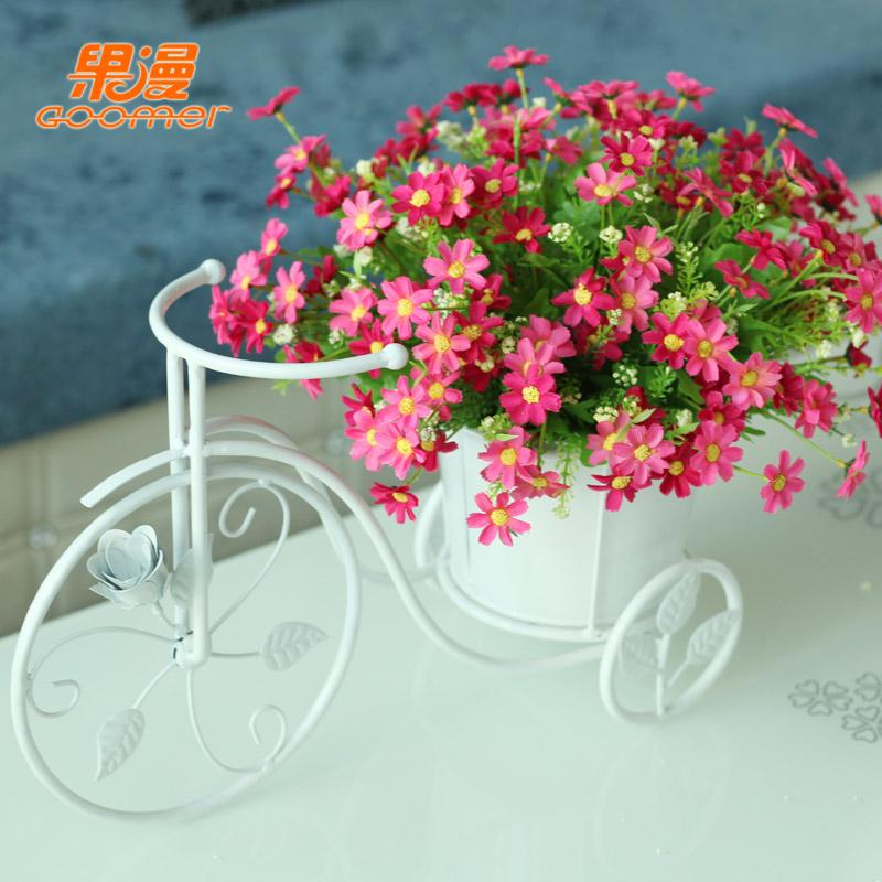 Buy Fashion Iron Bicycle Flower Arranging