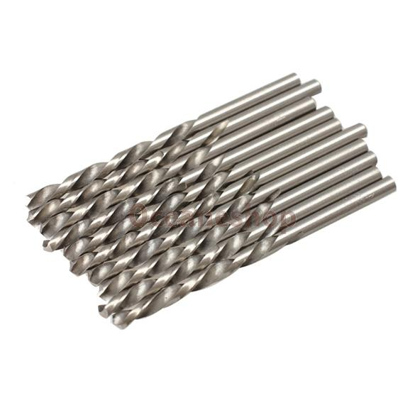 10PCS 4mm Micro HSS Twist Drilling Auger bit for Electrical Drill New<br><br>Aliexpress