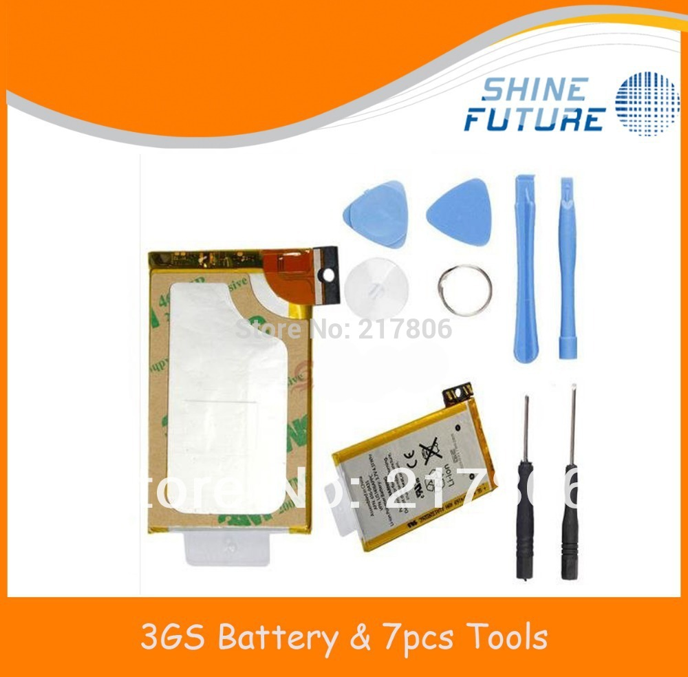 replacement battery and battery sticker adhesive tools for iphone 3gs(China (Mainland))