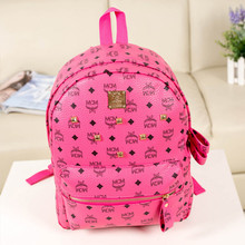 Leather backpack women Newest design casual mini backpack for women candy color female school bag Rivets backpack female(China (Mainland))