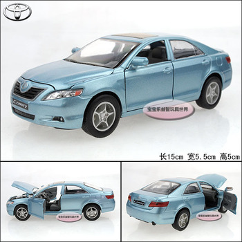 1:32 TOYOTA camry blue alloy car models free air mail