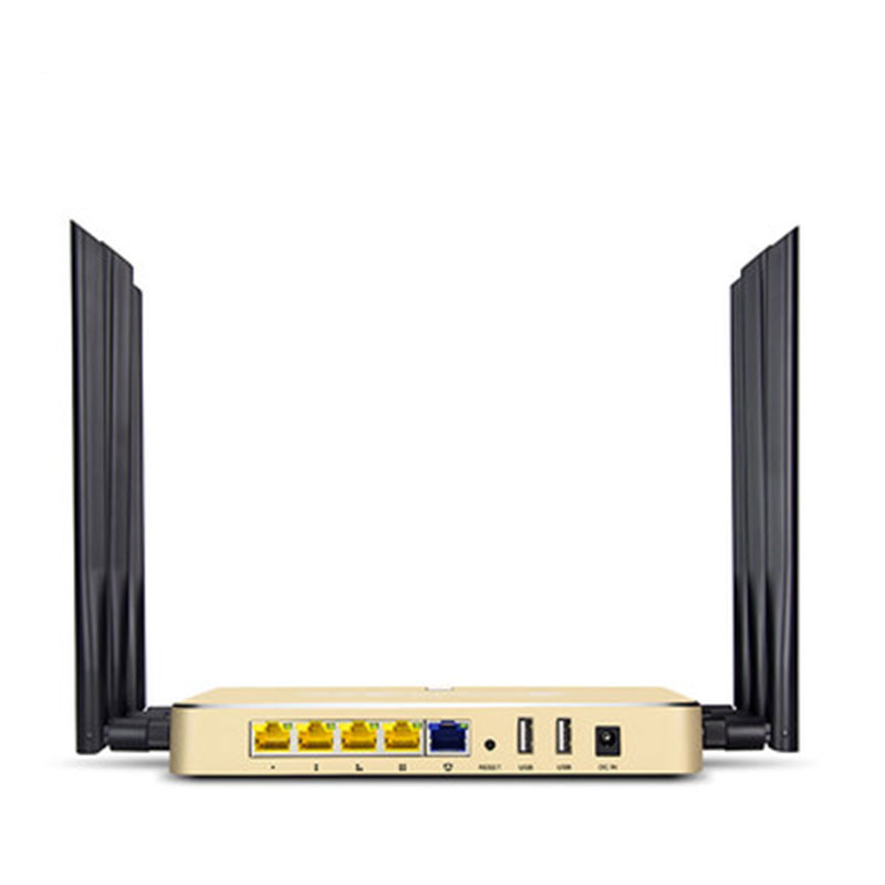 English firmware High power 1000MW 1167Mbps 802.11AC Dual Band 2.4G 5G WiFi Router 2*USB Port  -  Chaneve Electronic Technology Co., Ltd. store