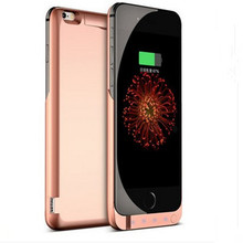 7000 Mah Power Case External Battery Backup Power Case Charger Cover Pack Power Bank Fits For Apple iPhone 6s 6 4.7 Battery Case(China (Mainland))