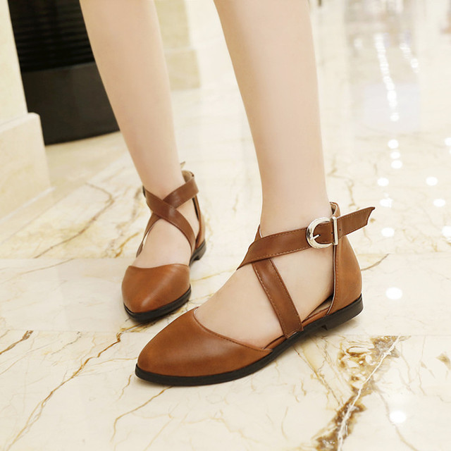 Comfortable And Beautiful Designs Of Flat Shoes 2016 ...
